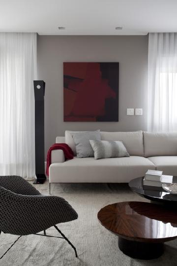 Projeto de Cristina Barbara com luminária Benedixt.