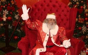 Papai Noel já está no Passeio das Águas Shopping, em Goiânia, Goiás
