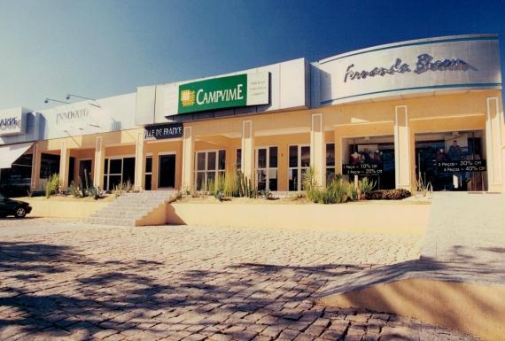 Administração de centros comerciais