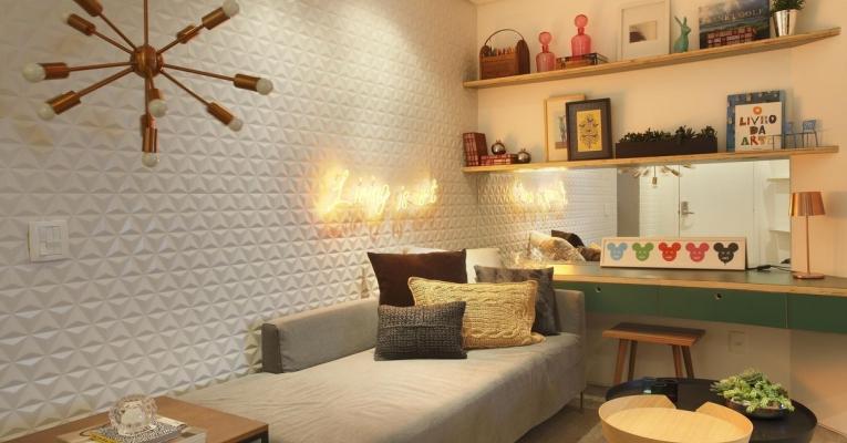 6 dicas de decoração para quartos compactos