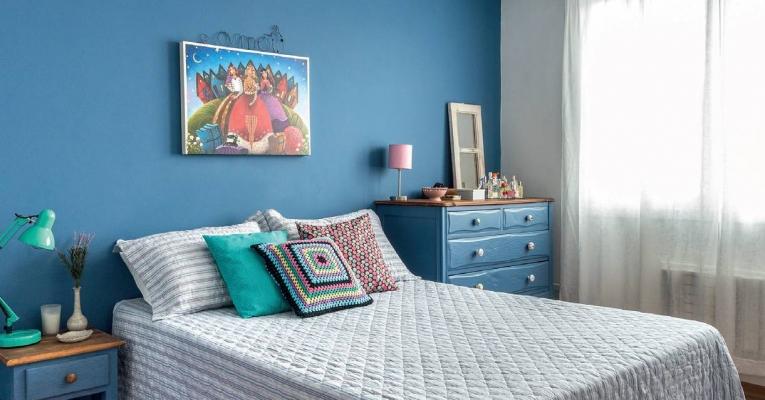 As melhores cores para pintar o quarto, de acordo com profissionais