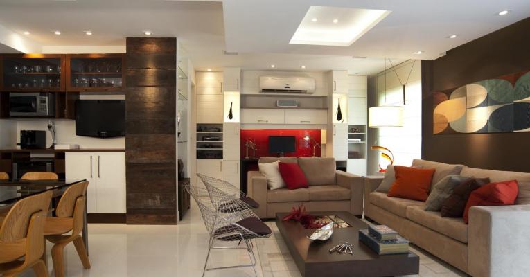 O segredo das casas com ambientes integrados