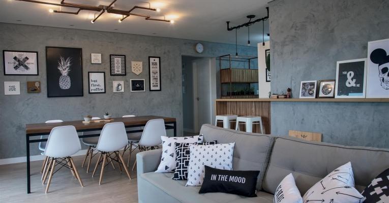 Como usar a decoração industrial nos ambientes de sua casa
