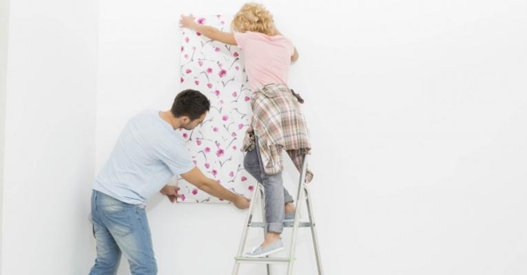 Papel de parede: ideias para personalizar ambientes da sua casa